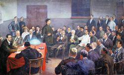 Сталин и его соратники копия картины